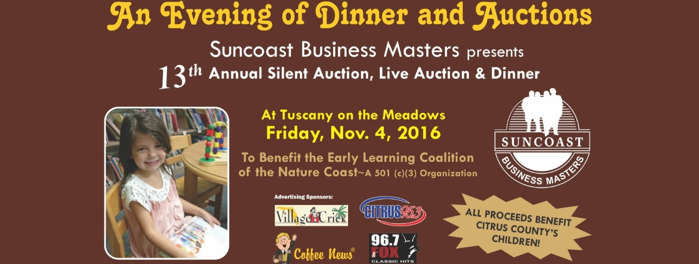 13th Annual Dinner & Silent Auction